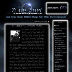 Jeanne de Salzmann – La Première initiation