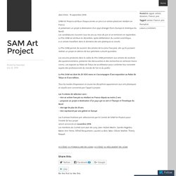 SAM Art Project