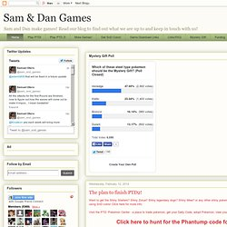 Sam & Dan Games