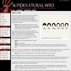Sam's Hair - Super-wiki