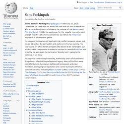 Sam Peckinpah