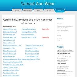 Carti online gratis in Limba Romana - descarca pdf download free