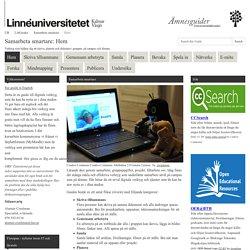 Hem - Samarbeta smartare - LibGuides at Linnéuniversitetet