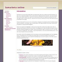 Samarbeta online