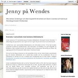Svenska i samarbete med skolans bibliotekarie