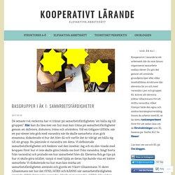 Basgrupper i åk 1: Samarbetsfärdigheter – Kooperativt Lärande
