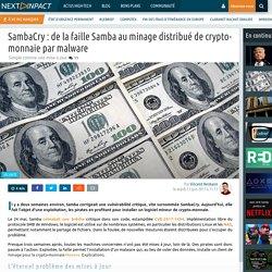 SambaCry : de la faille Samba au minage distribué de crypto-monnaie par malware