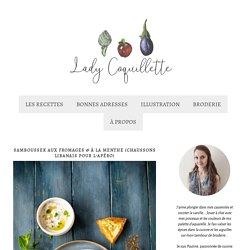 Samboussek aux fromages & à la menthe (chaussons libanais pour l'apéro) - Lady Coquillette - Recettes de cuisine gourmandes et créatives