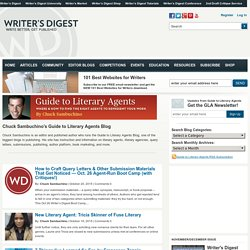 Chuck Sambuchino's Guide To Literary Agents Blog