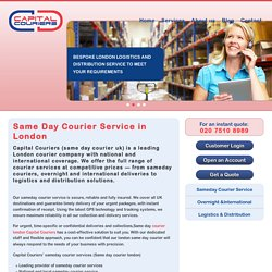 SAME DAY COURIER COMPANY