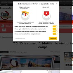 """13h15 le samedi"". Maëlle : la vie après coups - France 2 - 29 avril 2017 - En replay"