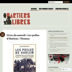 Livre du samedi : Les poilus d'Harlem / Thomas