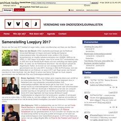 Samenstelling Loepjury 2017 - VVOJ