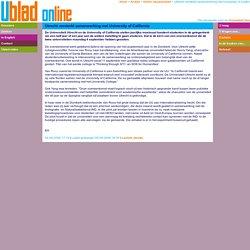 Utrecht versterkt samenwerking met University of California 04-09-2006
