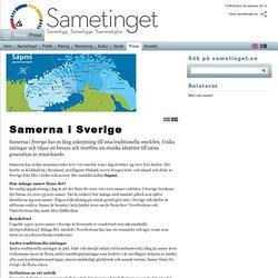 Samerna i Sverige - Sametinget