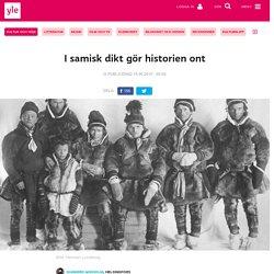 I samisk dikt gör historien ont