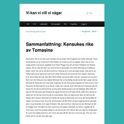 Sammanfattning: Kensukes rike av Tomasine