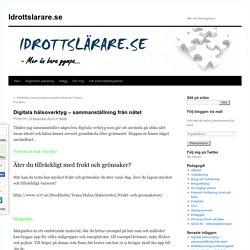 Digitala hälsoverktyg – sammanställning från nätet