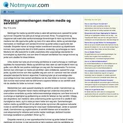 Hva er sammenhengen mellom medie og selvtillit? - kunnskap - notmywar.com