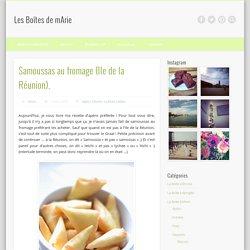 Samoussas au fromage (Ile de la Réunion).