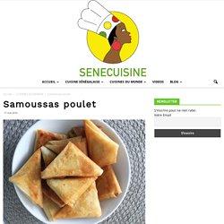 Samoussas poulet - SENECUISINE