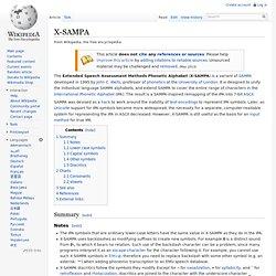 X-SAMPA
