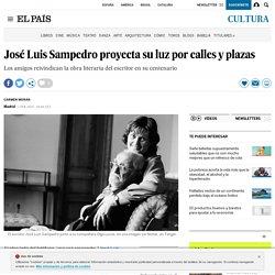 José Luis Sampedro proyecta su luz por calles y plazas