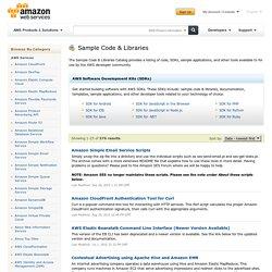 Sample Code & Libraries