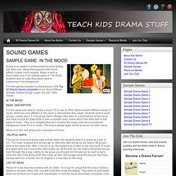 Sample Drama Game 8
