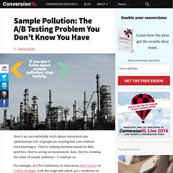 Sample Pollution: The Silent A/B Test Killer