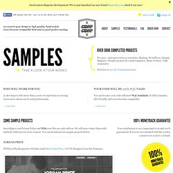 Sample Work — PSD to HTML & CSS services — Chop-Chop.org