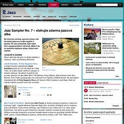 Jazz Sampler No. 7 – stahujte zdarma jazzová alba - ČRo Jazz a Euro Jazz – radio online plné jazzové hudby a informací