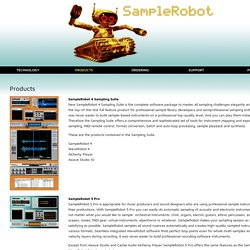 SampleRobot - Clever Instrument Creation [ Sample Robot - Automatic Sampling ] SKYLIFE Software