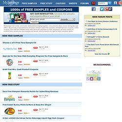 Free Samples - Online Printable Grocery Coupons - Free Stuff & Freebies