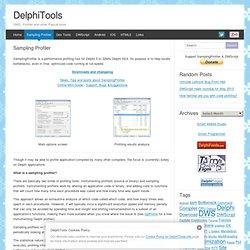 Sampling Profiler - DelphiTools.info