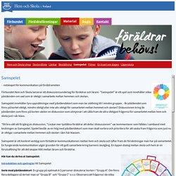 Samspelet - Hem och Skola
