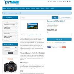 """Samsung 32J4003 32"""" – Flat HD LED TV"""