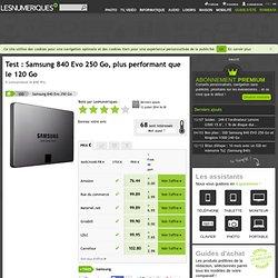 Samsung 840 Evo 250 Go