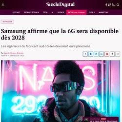 Samsung affirme que la 6G sera disponible dès 2028