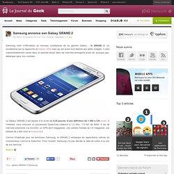 Samsung annonce son Galaxy GRAND 2