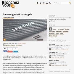 Samsung n'est pas Apple