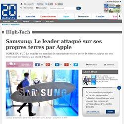Environnement d'Apple. (Concurrents) Samsung: Le leader attaqué sur ses propres terres par Apple