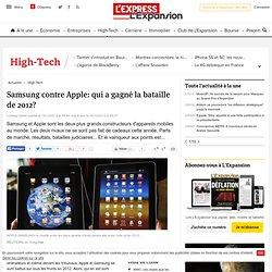 Samsung contre Apple: qui a gagné la bataille de 2012?