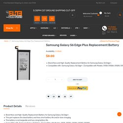 Samsung Galaxy S6 Edge Plus Battery Replacement