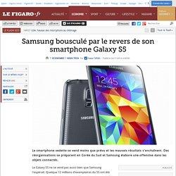 Samsung bousculé par le revers de son smartphone Galaxy S5