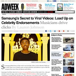 Samsung Tops Branded Video Chart With 3 Videos