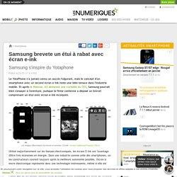 Samsung brevete un étui à rabat avec écran e-ink
