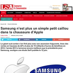 Samsung n'est plus un simple petit caillou... - Marché Multimédia