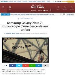 Samsung Galaxy Note 7 : chronologie d'une descente aux enfers