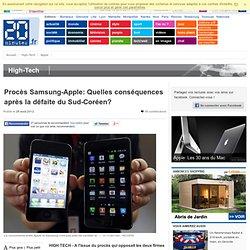 Procès Samsung-Apple: Quelles conséquences après la défaite du Sud-Coréen?